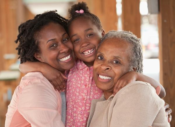 multi generations black females